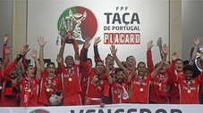 André Carrilo: Benfica campeón de la Copa de Portugal [FOTOS Y VIDEO]