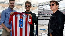 Así fue la visita de Tom Cruise al Atlético Madrid [VIDEO]