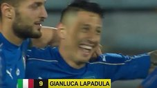 Revive el hat-trick de Gianluca Lapadula con camiseta italiana [VIDEO]