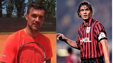 Exmundialista Paolo Maldini regresa a las canchas...de tenis (VIDEO)
