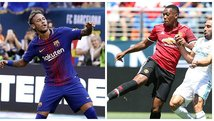 Barcelona vs. Manchester United: día, hora y canal por la International Champions Cup
