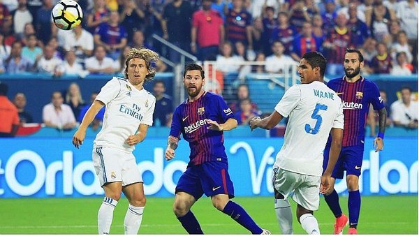 Barcelona gana derby a Real Madrid (3-2) por la International Champions Cup