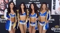 UFC: Ellas son las 'ring-girls' que estarán en la pelea del siglo [FOTOS]