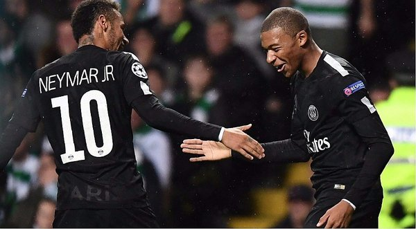 Champions League: Neymar puso el primero del PSG ante Celtic [VIDEO]