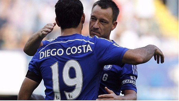 Jhon Terry a Diego Costa: