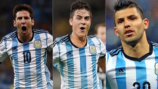 Image result for messi dybala and aguero