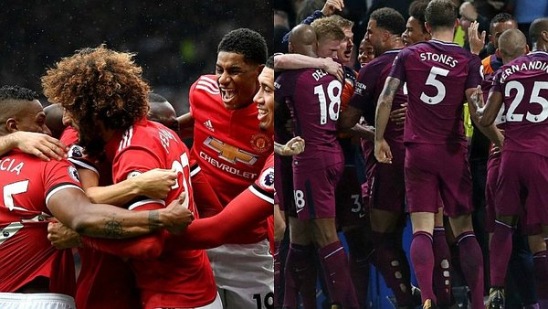 Premier League: Manchester City y Manchester United a ritmo demoledor