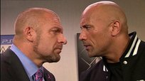 Triple H ante una pelea con The Rock: ''Estamos en negociaciones''