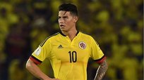 Perú vs. Colombia: mala noticia para James Rodríguez previo al partido