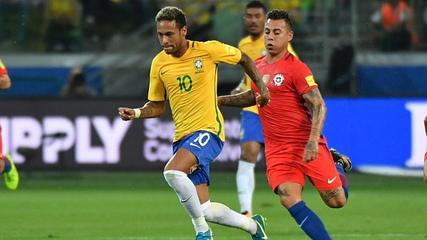 Brasil 2-0 Chile EN VIVO ONLINE por Eliminatorias
