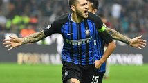 Mauro Icardi celebró como Messi tras anotar un Hat-Trick [VIDEO]