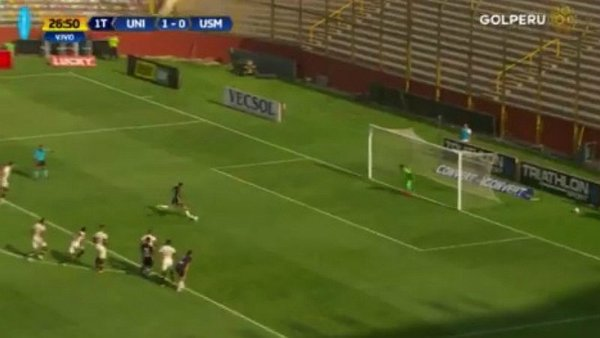 Universitario vs. San Martín: Succar anotó el empate para los 'santos' [VIDEO]
