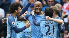 ​Manchester City venció al Burnley con estos golazos [VIDEO]