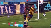 ​Sporting Cristal: El terrible blooper de Renzo Garcés [VIDEO]