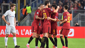 Roma goleó 3-0 a Chelsea en la Champions League [VIDEO]