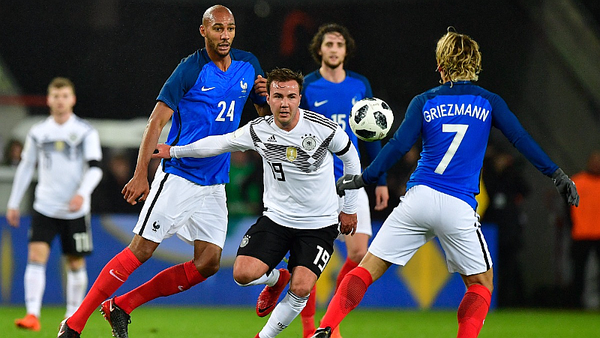 Francia y Alemania empataron 2-2 en amistoso [VIDEO]