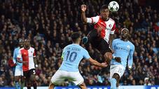 Con Tapia: Feyenoord cayó ante Manchester City en Champions League