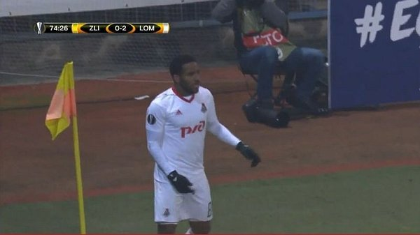 Jefferson Farfán marcó golazo de 'sombrerito' en la Europa League [VIDEO]