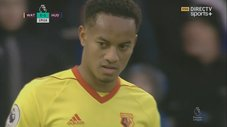 André Carrillo: Watford cayó goleado en la Premier League [VIDEO]