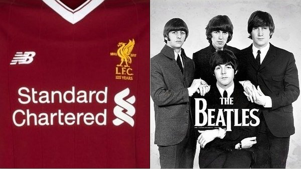 Filtran modelo de camiseta de Liverpool en homenaje a The Beatles