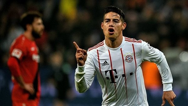James Rodríguez anotó un espectacular gol de tiro libre [VIDEO]