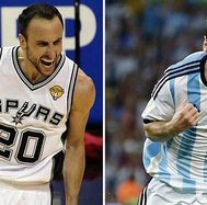 Lionel Messi y su respaldo a Manu Ginóbili para el All-Star Game de la NBA