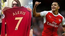 Ya se venden camisetas del Manchester United con el nombre de Alexis Sánchez