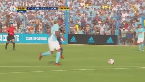 Sporting Cristal vs. U. de Chile: Yulián Mejía empata el partido [VIDEO]