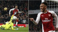 Aubameyang debuta en el Arsenal con golazo [VIDEO]