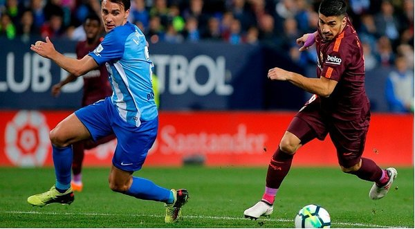 Sigue EN VIVO - Málaga vs. Barcelona por LaLiga