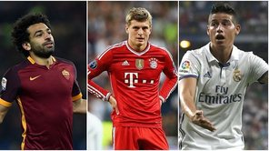 Champions League: Salah vuelve a Roma, James a Madrid y Kroos a Munich