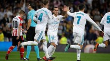 Real Madrid empató 1-1 con Athletic Club por la Liga Española