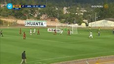 Ayacucho vs. Universitario: Sandoval abrió el marcador en Huanta [VIDEO]