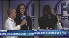 Julinho canta y baila con Miss Perú en Fox Sports Radio [VIDEO]