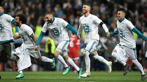 Real Madrid igualó con Bayern y clasificó a la final de la Champions League