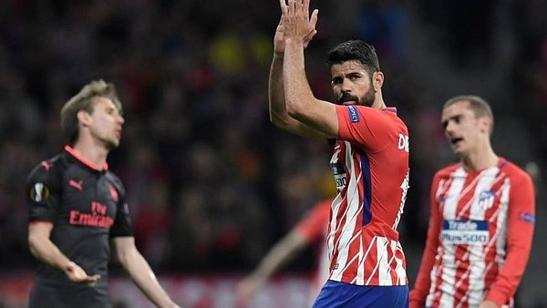 Atlético de Madrid pasó a la final de la Europa League tras vencer 1-0 al Arsenal