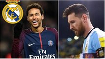 "Lionel Messi: ""Sería terrible ver a Neymar en el Real Madrid"""