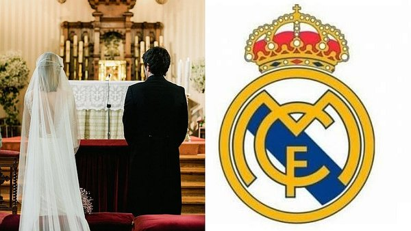 Novios chinos se casan al ritmo del himno del Real Madrid [VIDEO]
