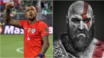 Bayern Munich compara a Arturo Vidal con Kratos de 'God of War'