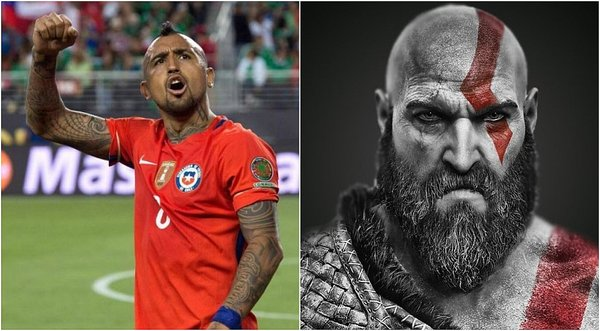 Bayern Munich compara a Arturo Vidal con Kratos de 'God of War' / Foto: twitter
