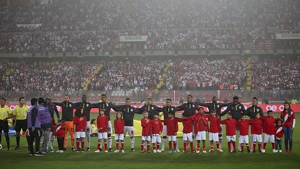Perú vs. Escocia: Estadio Nacional estalló con himno nacional [VIDEO]