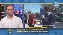 Periodista y camarógrafo de Fox Sports fueron agredidos en Chile [VIDEO]
