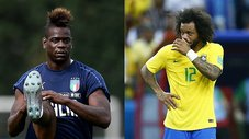 Mario Balotelli desafía a Marcelo con espectacular reto [VIDEO]