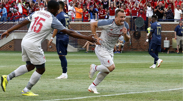Liverpool venció a Manchester United en la International Champions Cup / Foto: AFP