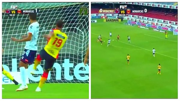 Ray Sandoval marca golazo a Pedro Gallese [VIDEO]