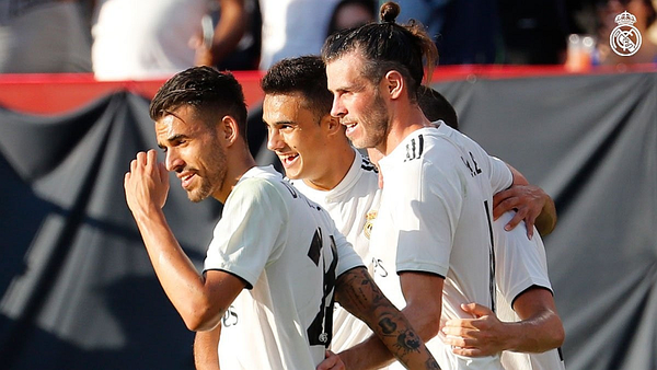 Real Madrid derrotó 3-1 a la Juventus en la International Champions Cup