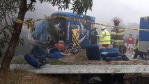 Fallecen 12 hinchas de Barcelona en accidente de bus [FOTO]