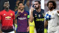 El once ideal de la primera jornada de la Champions League