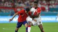 André Carrillo forzó error de Roco y Perú puso el 1-0 ante Chile [VIDEO]