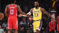 NBA: Pelea empaña el debut de LeBron James con los Lakers [VIDEO]